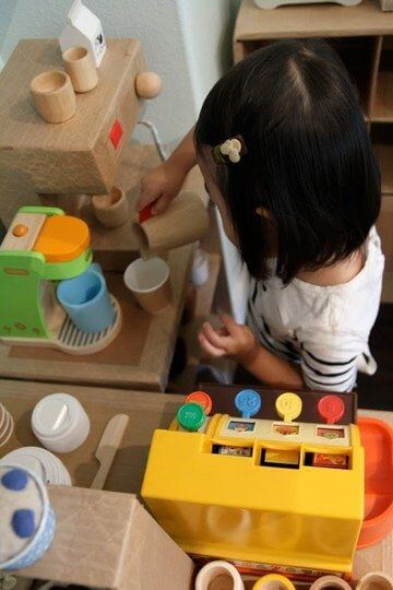 Mini Café für Kinder zum Spielen