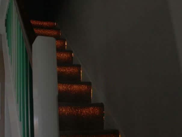 leuchtende Treppe selber machen