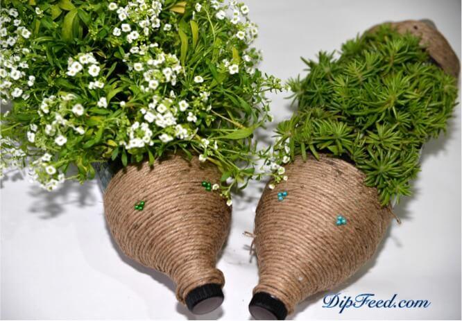 DIY Gartendeko-Ideen-niedliche Blumentöpfe gestalten