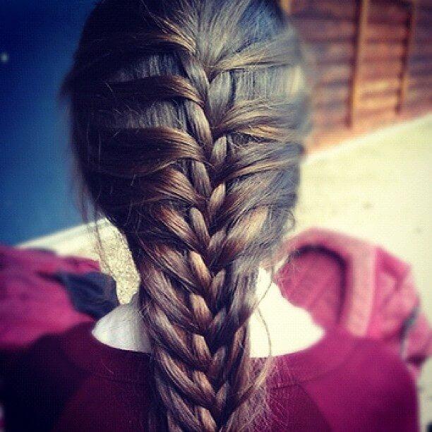 Flachtfrisuren für lange Haare - tolle Ideen