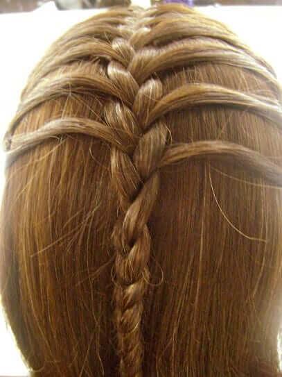 halboffene Flechtfrisur - Sommer-Haartrends