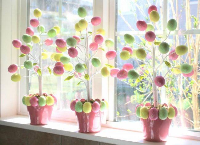 Eierbaum selber machen - DIY Deko Ideen