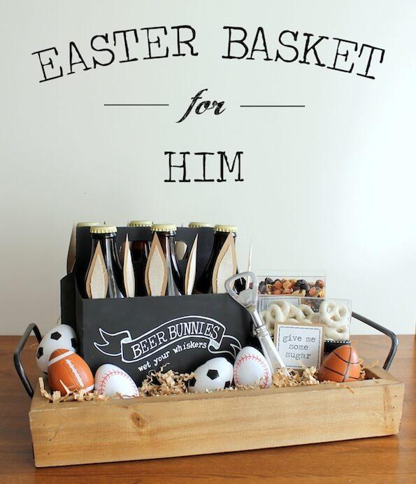Geschenkideen zu Ostern für Männer - DIY Ideen