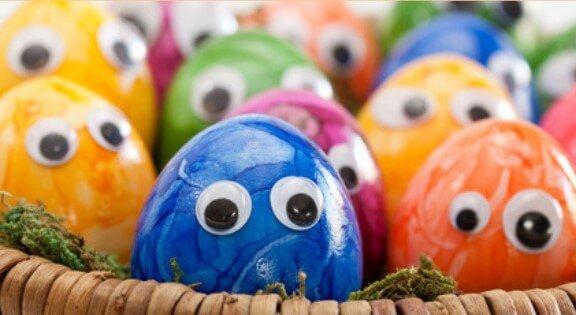 Bezaubernde Osterei Jagd Ideen, die deine Kinder bestimmt lieben werden - Lustige Ostereier