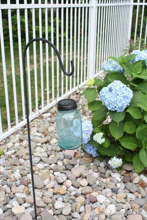 Gartendeko mit Einweckgläser selber machen