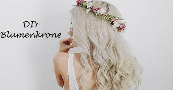 Kröne deine innere Frühlingsfee mit dieser hübschen Blümchen Krone