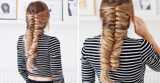 Wir bringen dir bei, wie du deine Haare flechten sollst
