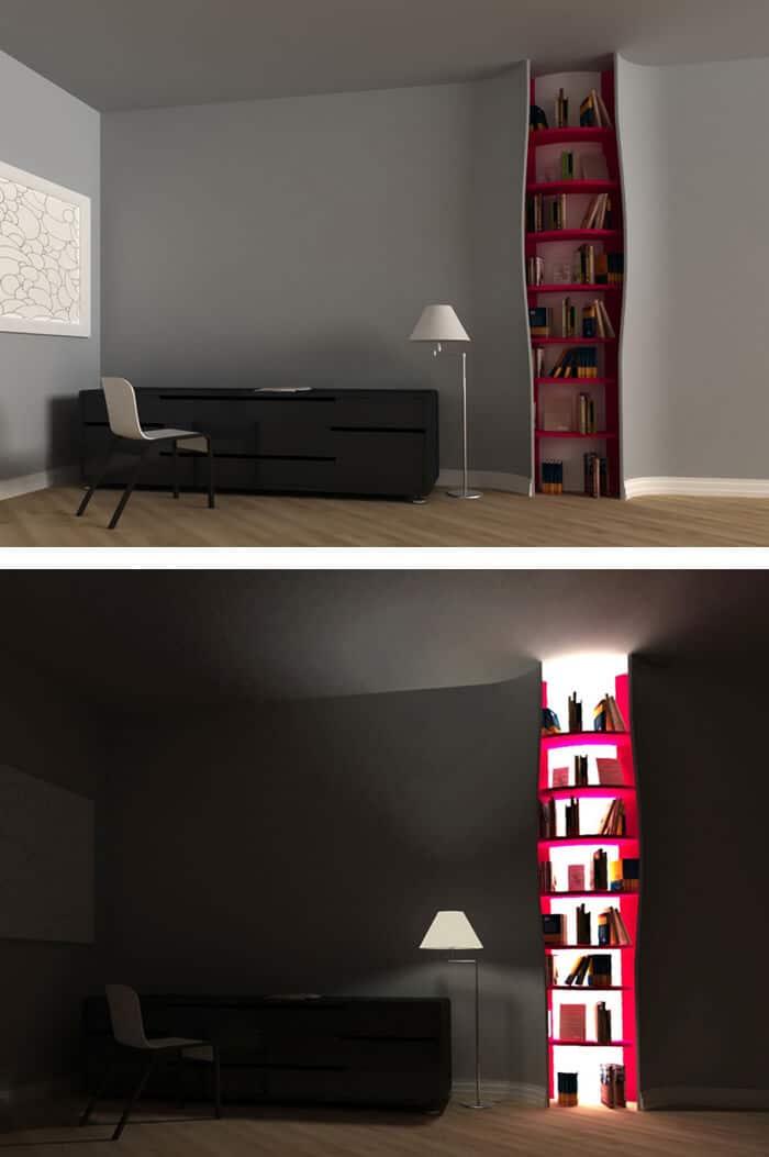 kreative Wohnideen- DIY Aufbewahrung für Bücher
