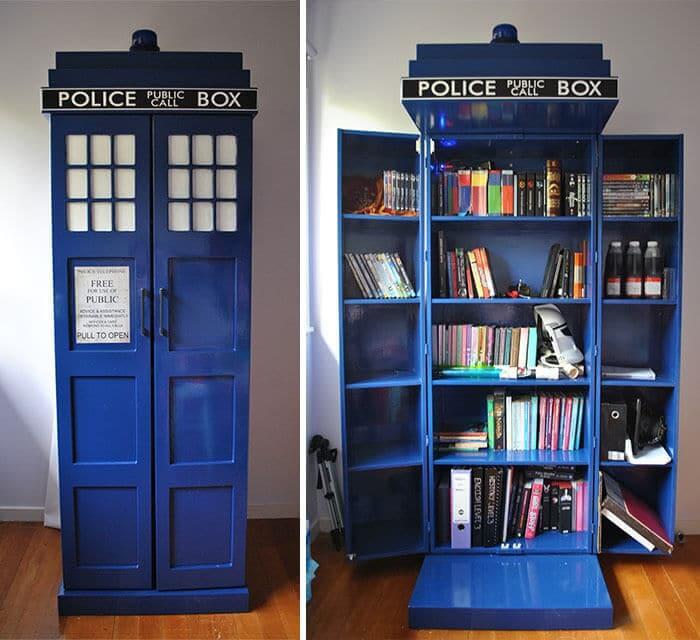 Bücherregal kreativ gestalten - DIY Wohndeko