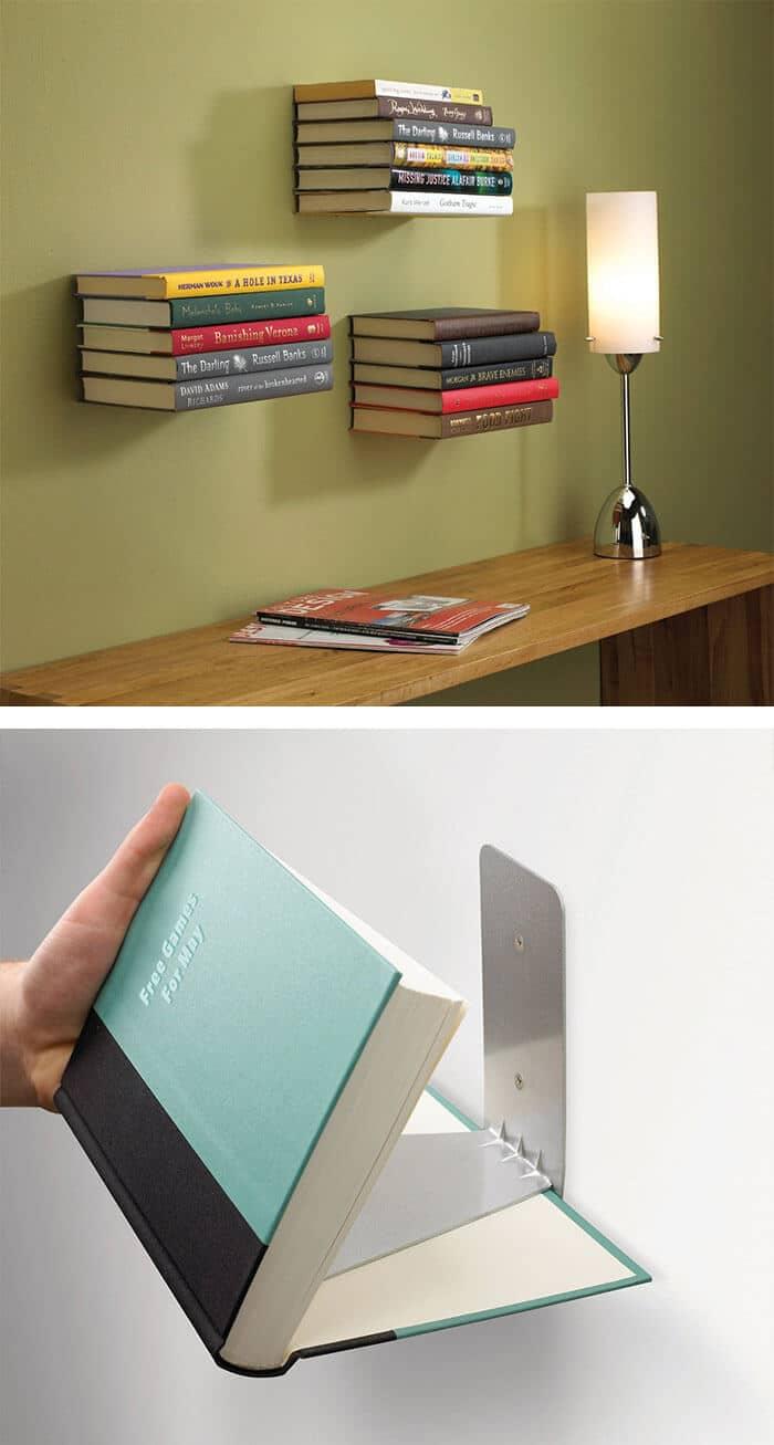 unsichtbare Regale selber bauen - DIY Möbel