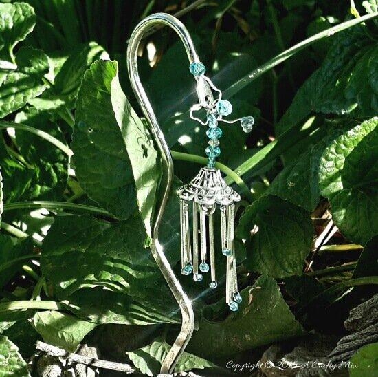 DIY Glocke für einen dekorativen Garten