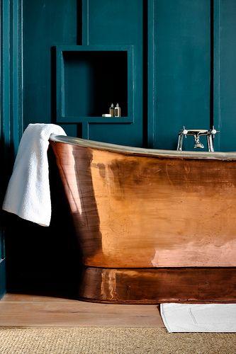 DIY Badezimmer Deko selber machen - Kupfer-Stil