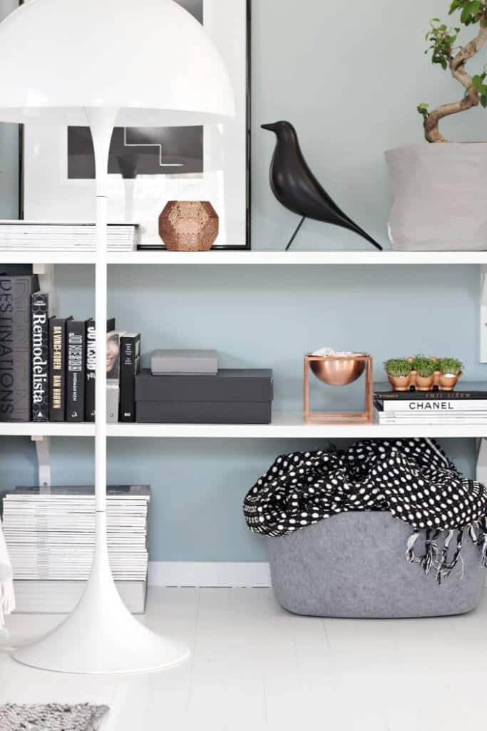 Wohndeko und Kerzenhalter mit Kupferspray besprühen - DIY Wohndesign
