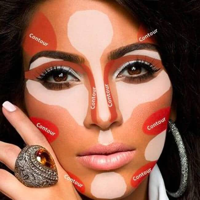 Kim Kardashian Contouring - MakeUp