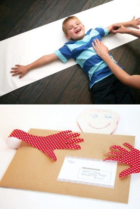 DIY Umarmung Geschenkidee - Muttertag Bastelideen