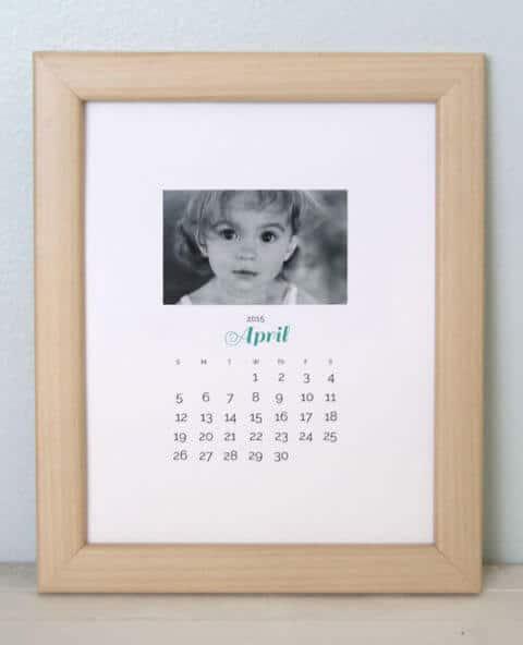Foto-Kalender selber machen - DIY Geschenkideen