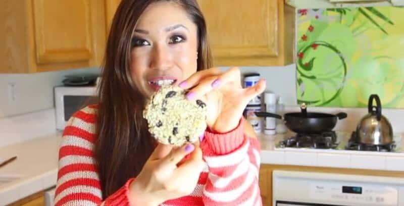 gesunde Süßigkeiten für Kinder backen - Rosinen-Cookies