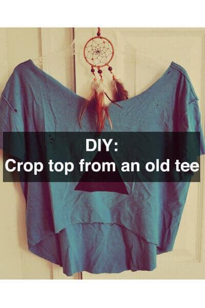 altes T-shirt weiderverwenden