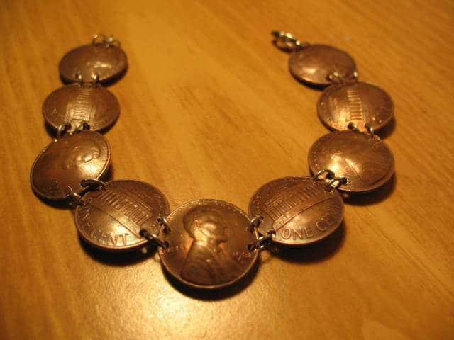 Halskette aus Münzen selber machen -DIY Geschenkidee