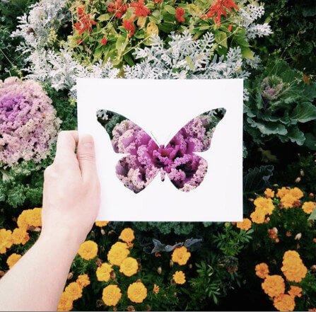 ausgefallene Bilder selber machen - DIY Bastelideen mit Bildern