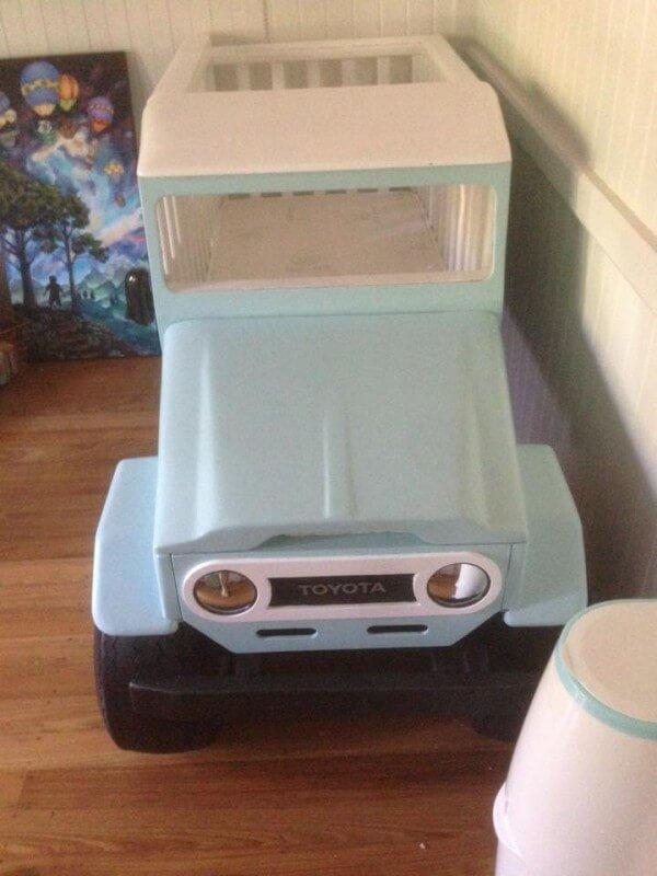 kreatives Kinderbett selber machen - Bastelideen für das Kinderzimmer