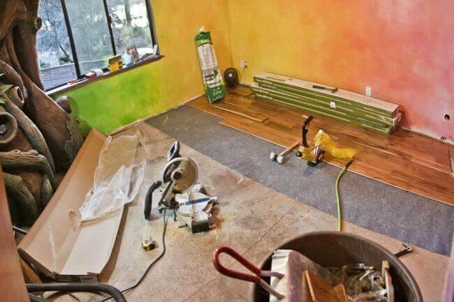 Kinderzimmer renovieren - DIY Projekte