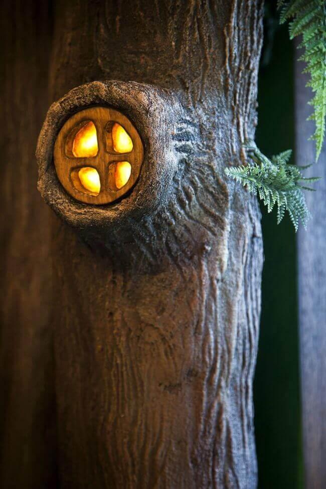 Lichter im Baum - DIY leuchtenden Märchenbaum basteln