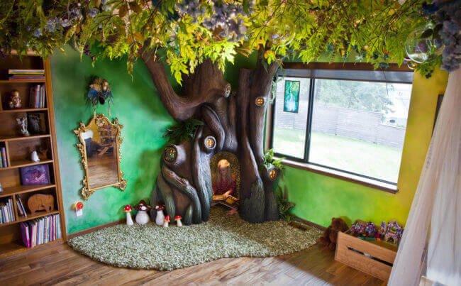 Von diesem Zimmer träumt jedes Kind! DIY Baum
