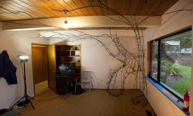 märchenhafter Baum selber machen - DIY Wohndeko