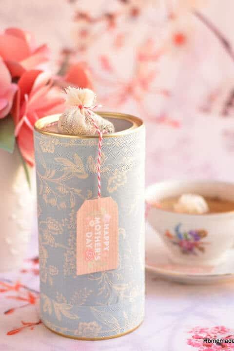 Teemischung-Idee- Geschenke selber machen