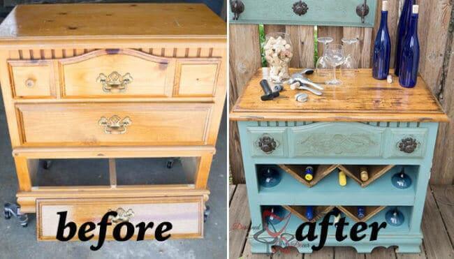DIY Vintage Kommode - Renovierung-Ideen