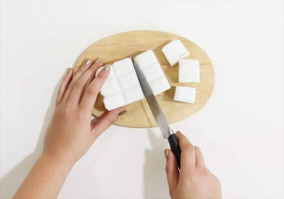 Buchstaben für DIY Seifen herstellen