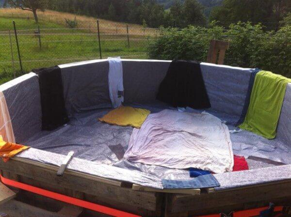 DIY Gartendeko-Ideen - Pool bauen