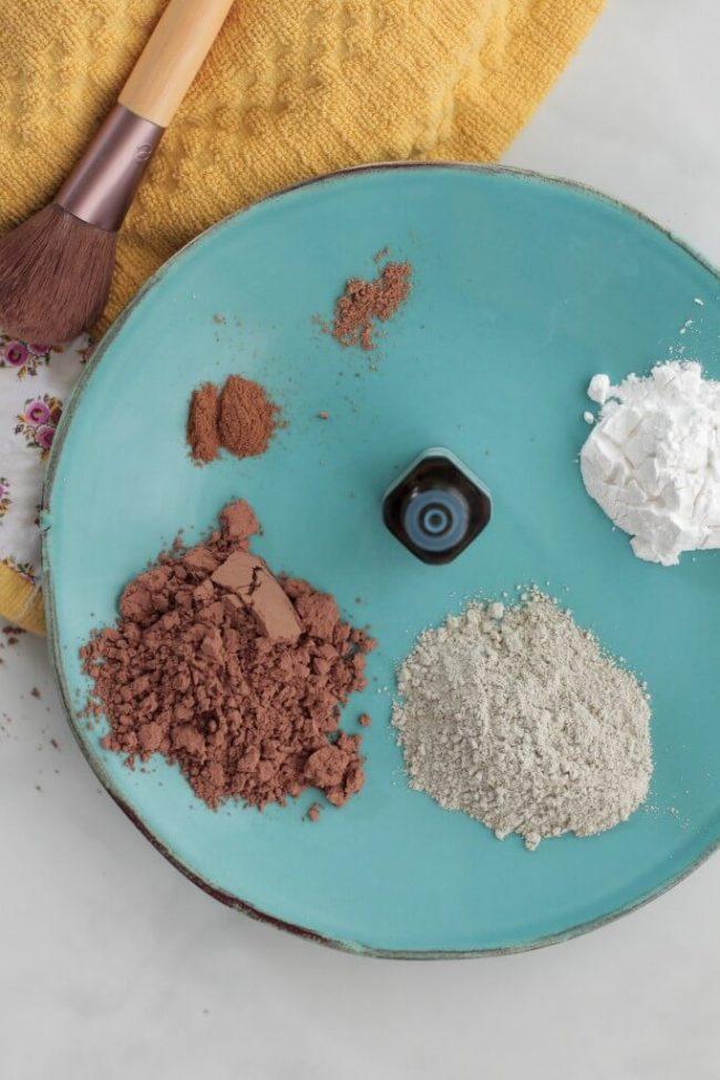 Mineralpuder selber vermischen