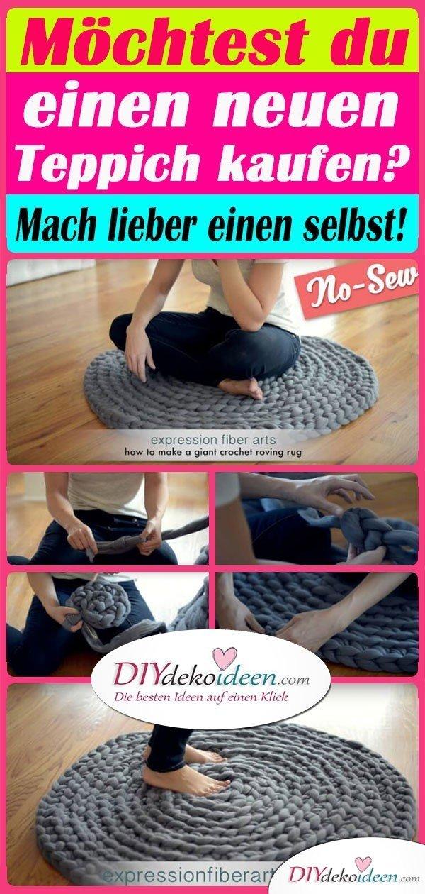 Möchtest du einen neuen Teppich kaufen? Mach lieber einen selbst!