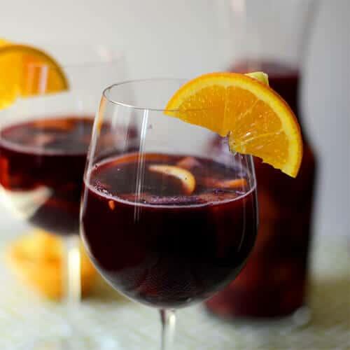 Urlaubsgetränk selber machen - Sangria Rezept