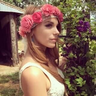 DIY Blumenkrone aus ECO-Blumen selber basteln