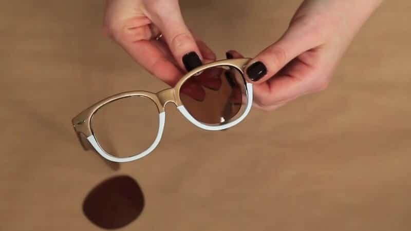 DIY trendige Sonnenbrille zum Selbermachen