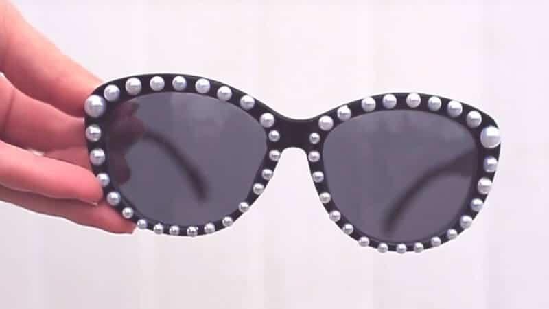 Elegante Sonnenbrille selber machen