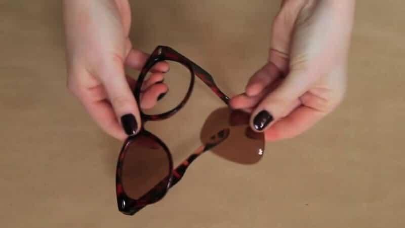 modische Sonnenbrille für den Sommer selber machen