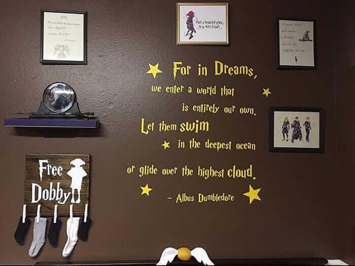 Wanddeko für Harry Potter-Fans