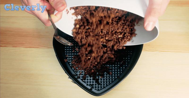 Keks-Nutella Kuchen - schnelle Rezeptideen