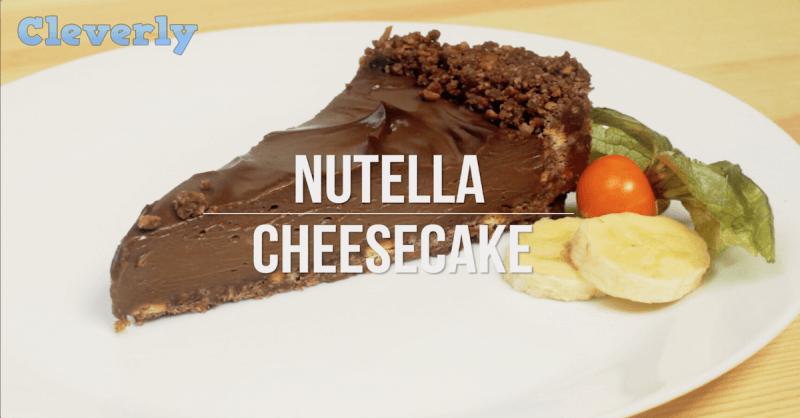 schnelle Rezepte - Käsetorte mit Nutella