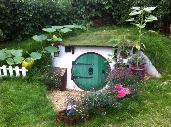 Hobbit DIY Haus von außen