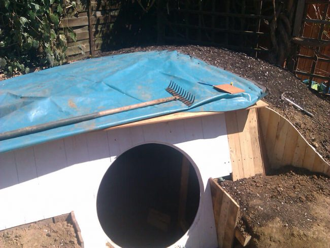 DIY Gartengestaltung - mini Haus selber bauen