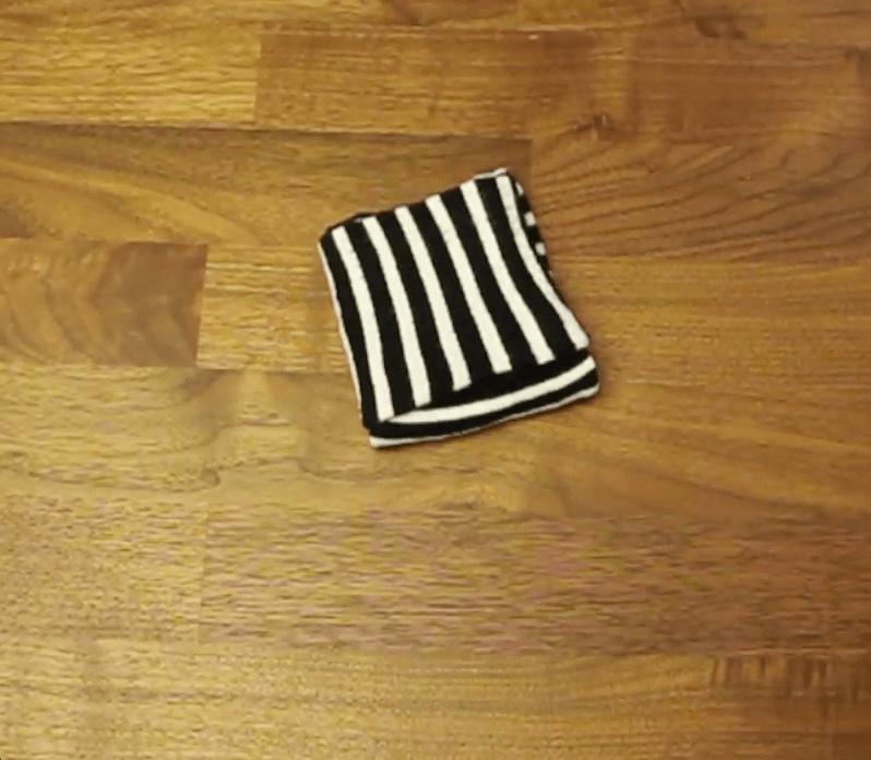 Beste Anleitung - Socken falten