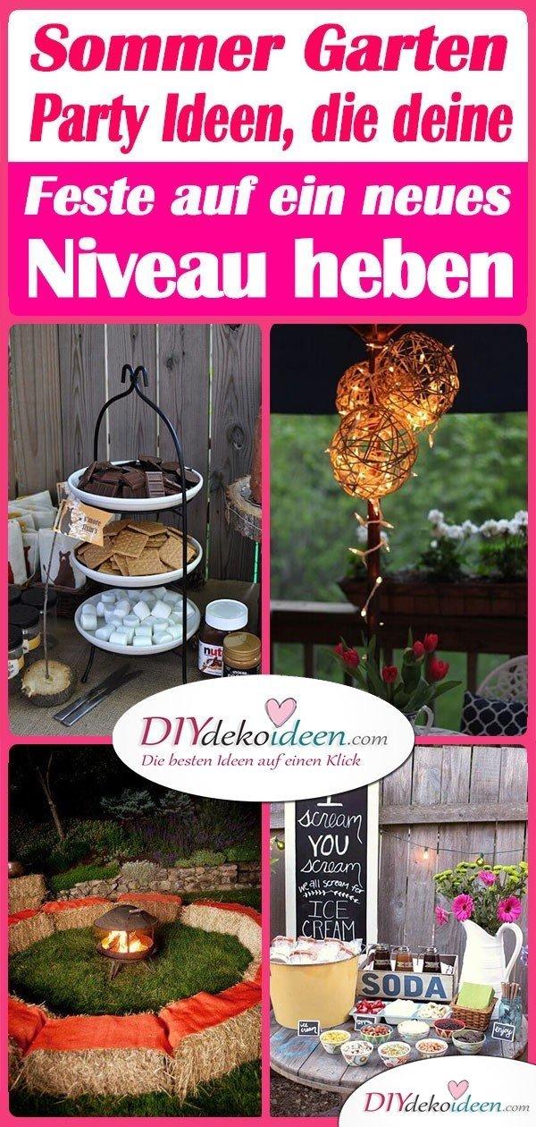 Sommer Garten Party Ideen, die deine Feste auf ein neues Niveau heben
