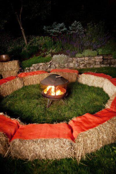 DIY Feuerstelle für die Gartenparty gestalten