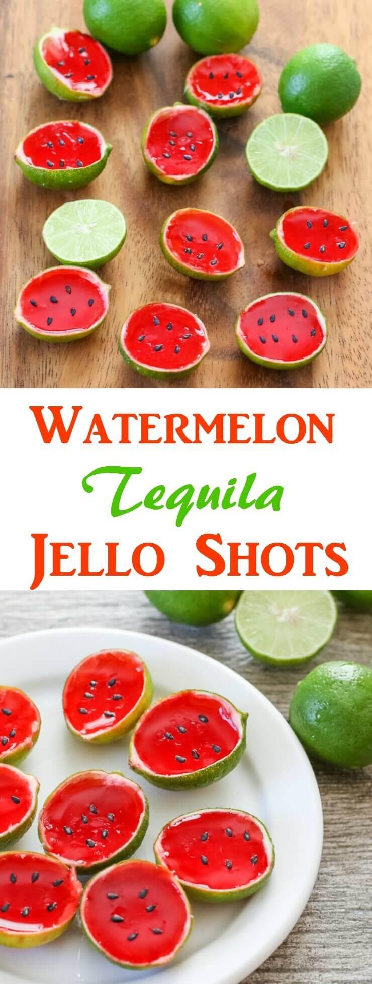 DIY einfache Ideen - Wassermelone Leckerei