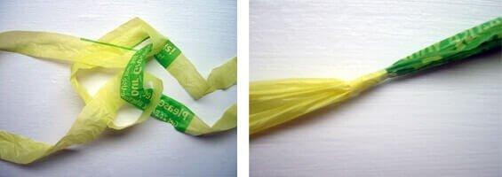 plastiktüten recyceln - Einkaufstasche selber machen